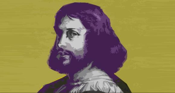 "Ludovico Ariosto, autor del poema épico ""Orlando Furioso""."