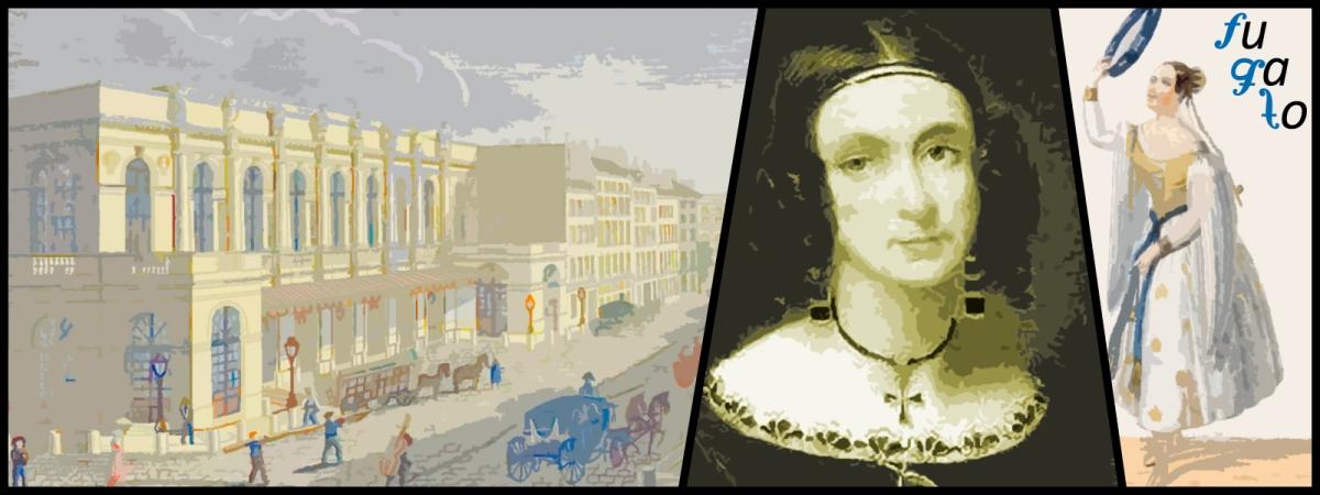 Teatro de l'Académie Nationale de Musique, Louise Bertin y diseño de vestuario para el personaje de Esmeralda.